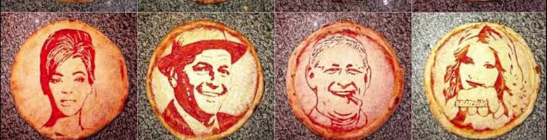 Domenico Crolla: il pizzaiolo che dipinge le star sulla pizza